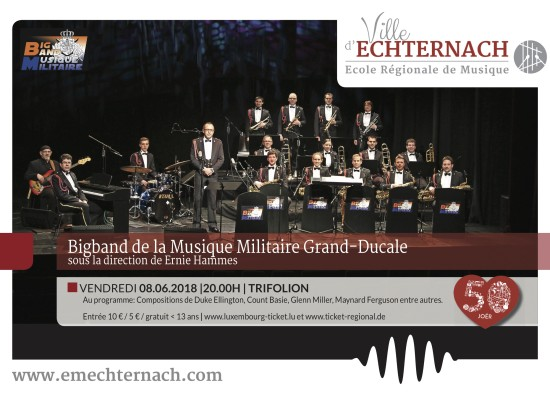 Big Band Musique Militaire Poster