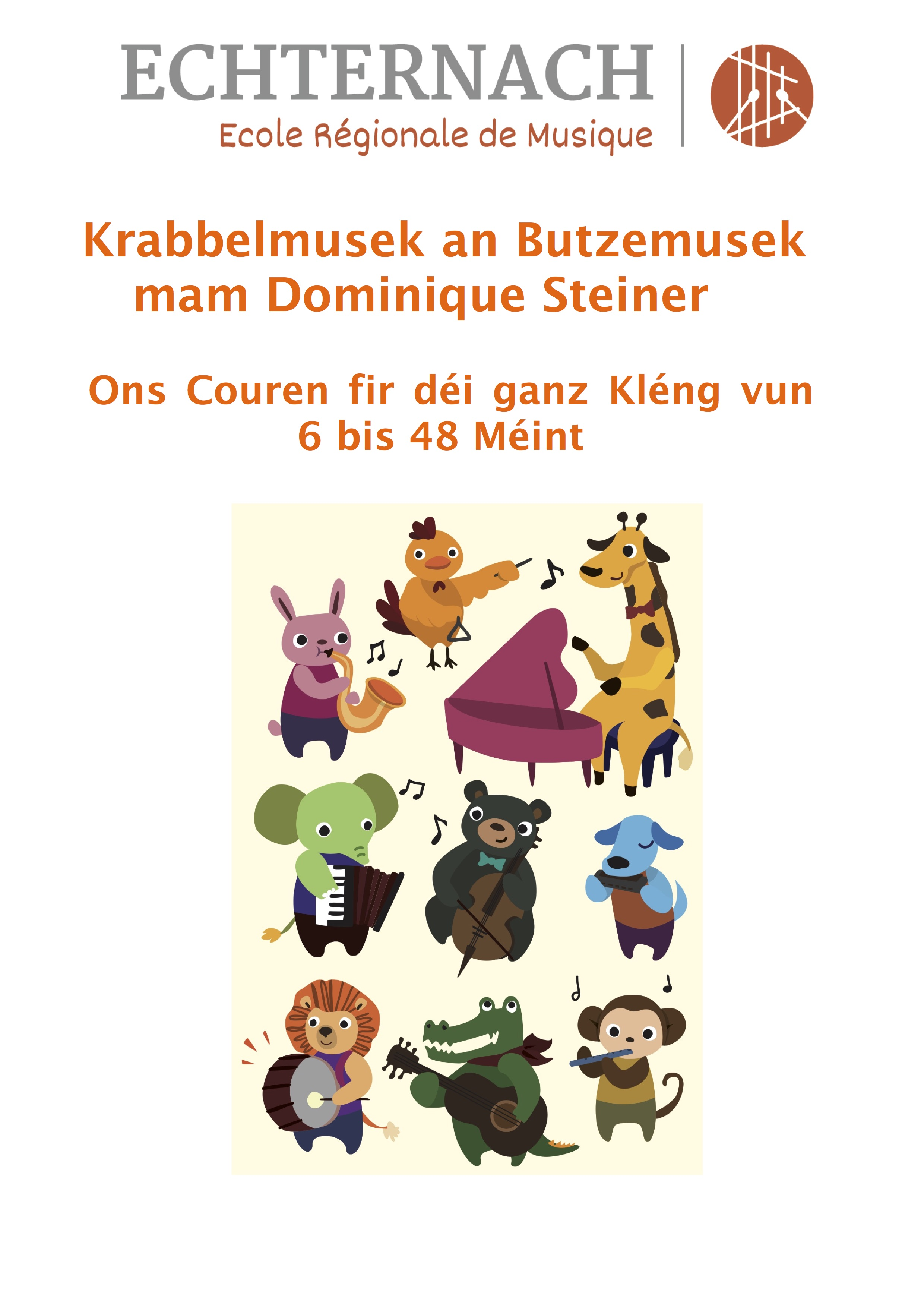 Butzemusek an Krabbelmusek Flyer copy