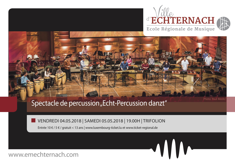Echt Percussion danzt