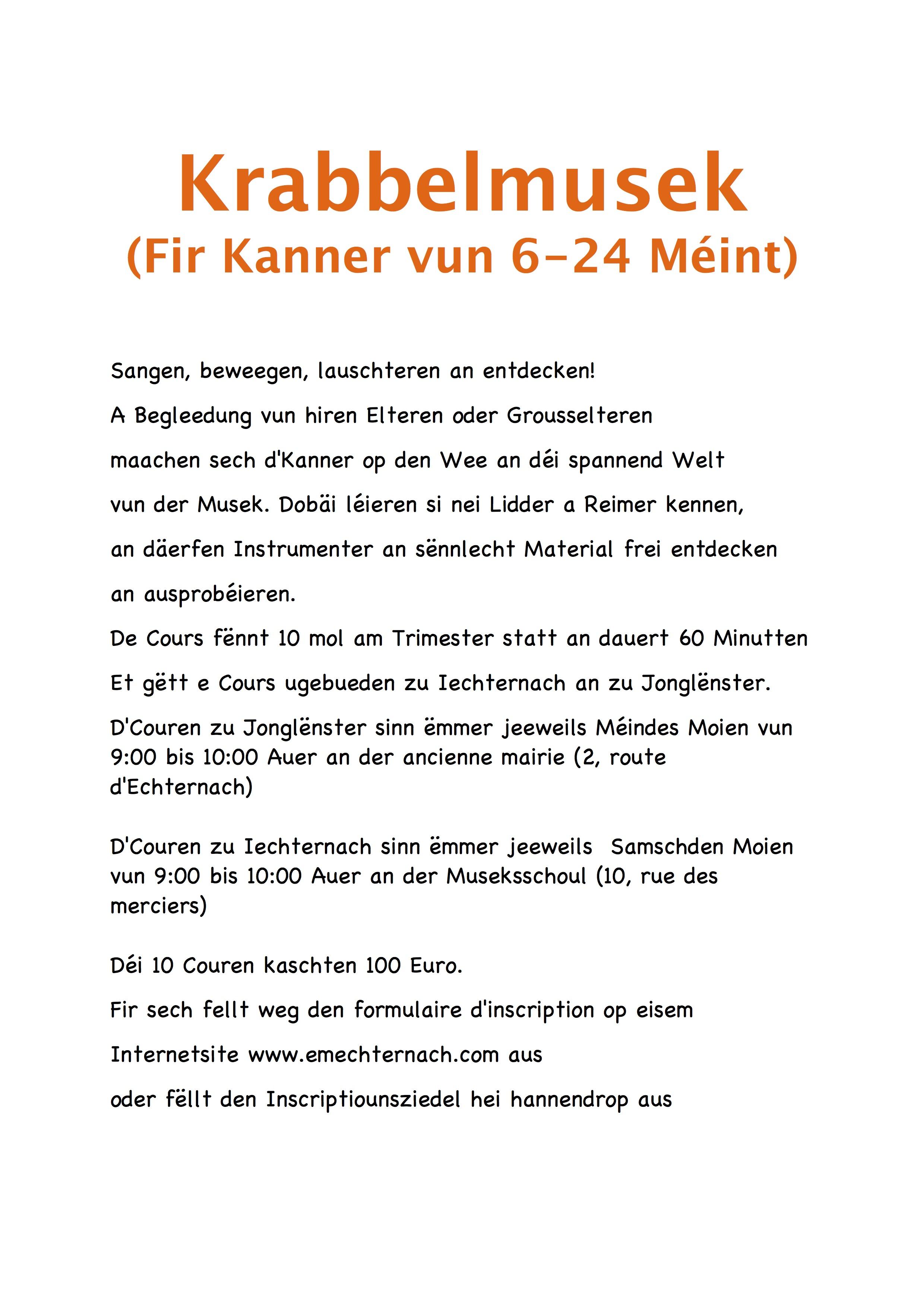 Butzemusek an Krabbelmusek Flyer copy 2
