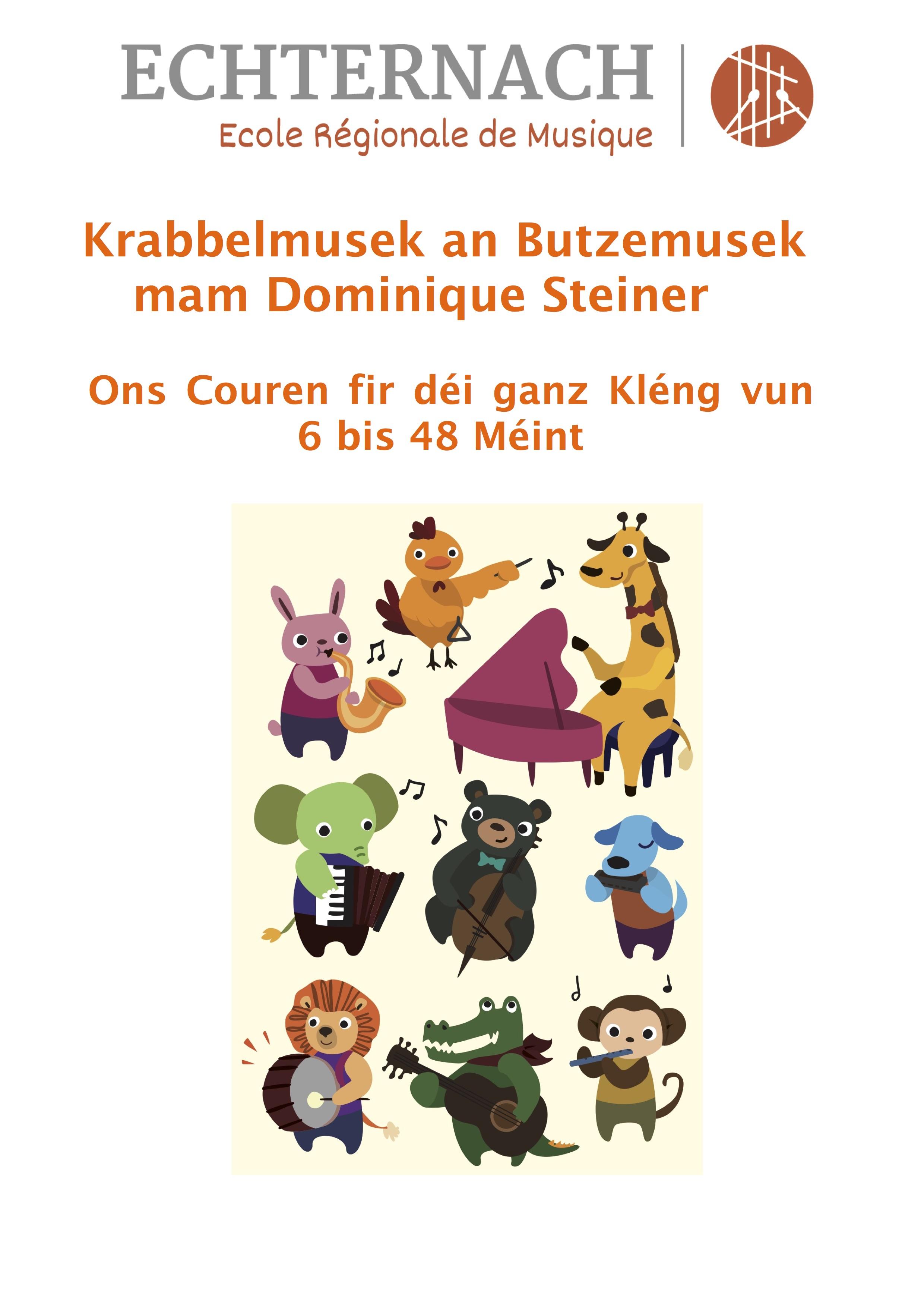 Butzemusek an Krabbelmusek Flyer copy