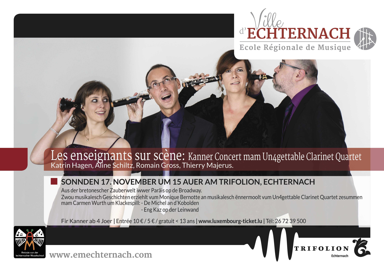 Un4gettable Clarinet Quartet Kanner-2 copy